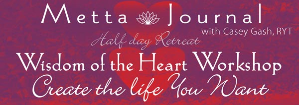 metta journal workshop with casey gash